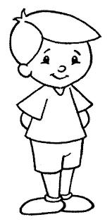 Resultado de imagem para criança para colorir