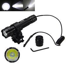 <b>5000Lm</b> Torch Light XML T6 LED Military <b>Hunting Flashlight</b> 18650 ...