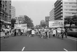 english made elegant feminism in the glass castle women s right demonstration washington dc 1970 creative commons