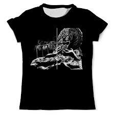 <b>Printio</b> Horror 5 T-Shirt Art 2, Женская Одежда Москва