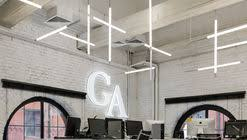 gazetaru news agency office nefa architects architecture office interior