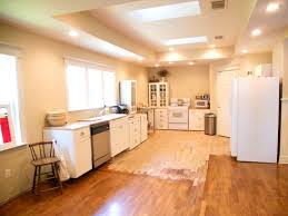 fluorescent kitchen ceiling
