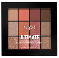 <b>NYX</b> Палетка теней Ultimate Multi-<b>Finish</b> Shadow Palette — купить ...