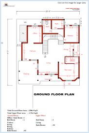 Bedroom home plan and elevation   Kerala House DesignGround floor plan