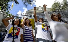 venezuelan opposition vows to resume anti maduro street protests opposition activists in venezuela shout slogans demanding that the leftist government of nicolas maduro order the