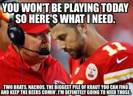 Five of the funniest / meanest memes about Kansas City Chiefs QB ... via Relatably.com