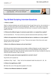 shell scripting interview questions