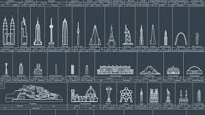 co design infographic of the day mankind s greatest architectural design infographic of the day mankind s greatest architectural achievements since prehistory