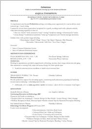 resume templates create a regard to s resume templates 22 cover letter template for aesthetician resume sample digpio in 87 fascinating