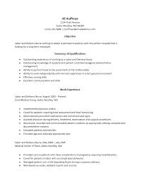 labor and delivery nurse resume job description example summary    labor and delivery nurse resume job description example summary and qualifications