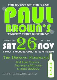INV038 - <b>Birthday Party</b> Invite - Willow <b>Printing</b> & Design