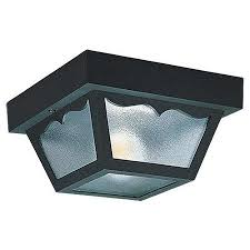 get quotations sea gull lighting 7567 ceiling fixtures outdoor ceiling outdoor lighting flush mount clear cheap outdoor lighting fixtures
