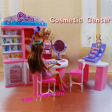 new arrival girl gift play toy doll house cosmetic center furniture for bjd simba lica barbie barbie furniture for dollhouse