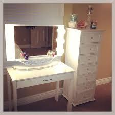 makeup desk desks and vanities on pinterest brilliant decorating mirrored furniture target