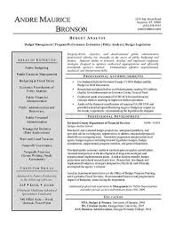 budget analyst resume example budget analyst resume sample
