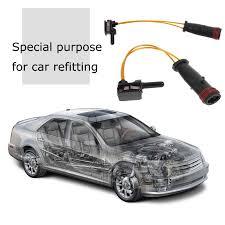 VODOOL <b>Car Styling Front Rear</b> Brake Pad Wear Sensor Fit for ...