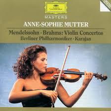 <b>Anne</b>-<b>Sophie Mutter</b>: <b>Mendelssohn</b> / Brahms: Violin Concertos ...
