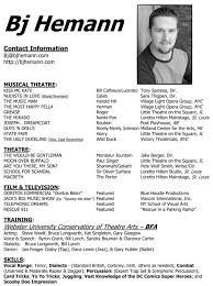 resumes sample acting resumes hugh laurie actor resume actor resume audition resume format