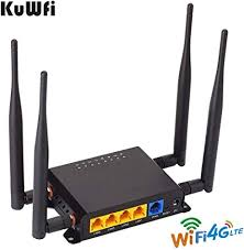 KuWFi 300Mbps 3G 4G LTE Car WiFi Wireless Router ... - Amazon.com