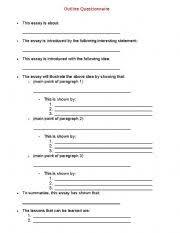 english teaching worksheets writing essays english worksheets essay outline