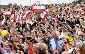 Resultado de imagen para papa francisco en polonia