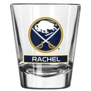 <b>Buffalo Sabres</b> 2oz Personalized Full Color Shot Glass