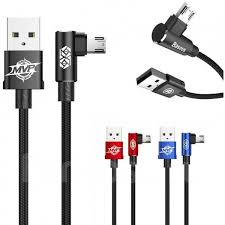 Кабель <b>Baseus MVP</b> Elbow Type Cable Micro USB 2Am 100 cm ...