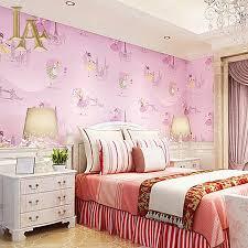 bedroom space cartoon wallpaper kid decoration