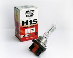<b>Лампа</b> галогенная <b>AVS Vegas H15</b>.12V.15/55W (1 шт.) оптом от ...