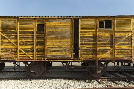 sobering and provocative holocaust research paper topic ideas old train wagon