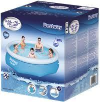 <b>Бассейн BESTWAY</b> Fast Set Pool <b>надувной</b> 305x76см,3638л ...
