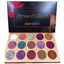 ROPALIA 15 <b>Colors</b> Eyeshadow Palette Glitter Pigment <b>Textured</b> ...