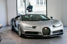 Of Bugattis Silver Chiron Is Star Of Bugatti39s New Munich Boutique And Showroom