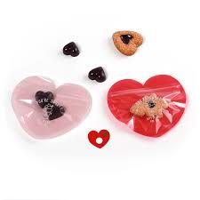 <b>50pcs</b> Heart Candy Dragee Gift Box Transparent <b>Plastic</b> Ziplock Gift ...