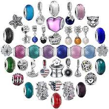 <b>New Arrival</b> Colorful Glass Bead Charms For <b>Sterling</b> 925 Silver ...