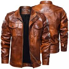 best top 10 <b>pu leather mens jacket</b> ideas and get free shipping - a996