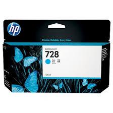 Ink <b>HP 728 Cyan</b> 130ML F9J67A