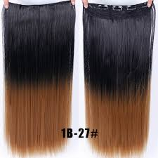 <b>WTB 24 Inches 60cm</b> Fall To Hips Clip In One Piece Hair Extensions ...