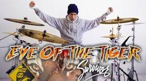 <b>Eye Of The Tiger</b> Survivor Drum Cover Movie