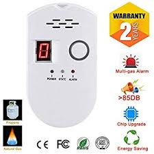 <b>2019 New</b> Propane/<b>Natural</b> Digital Gas Detector, Home Gas Alarm ...