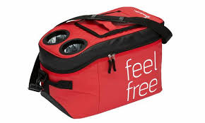 Isabella Fell <b>free</b> cooler bag - <b>Red</b>