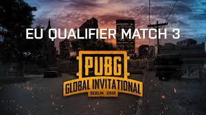 <b>PUBG</b> - <b>Game 3</b> | <b>PUBG</b> Global Invitational 2018 - Europe - YouTube