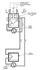 electric water heater thermostat wiring diagram electric wiring diagram for dual element water heater the wiring diagram on electric water heater thermostat wiring