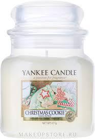 Yankee Candle <b>Christmas Cookie</b> - <b>Ароматическая свеча</b> в банке ...