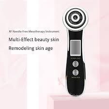 RF Face Beauty Device EMS <b>Microcurrent Skin Care Tool</b> Led Color ...