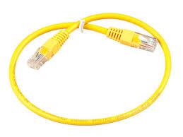 <b>Сетевой кабель ExeGate UTP</b> Cat 5e 0 5m Yellow - НХМТ