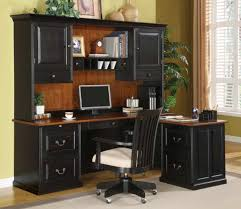 beautiful home office decoration using l shaped desk with hutch home office beauteous image of astounding home office desk