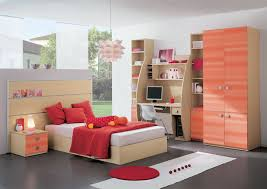 bedroom design red contemporary wood: bedroom amazing modern childrens bedrooms design ideas with red contemporary furniture for orange solid wood cabinet