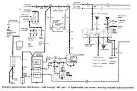 alternator wiring diagram for 1991 ford f 350 wiring diagram ford ranger wiring by color 1983 1991