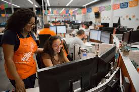 cashier the home depot office photo glassdoor the home depot photo of contact center